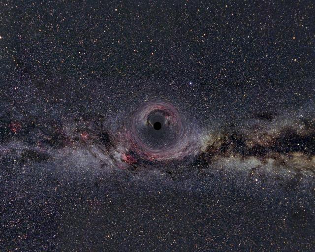 Schritt für Schritt ins Schwarze Loch